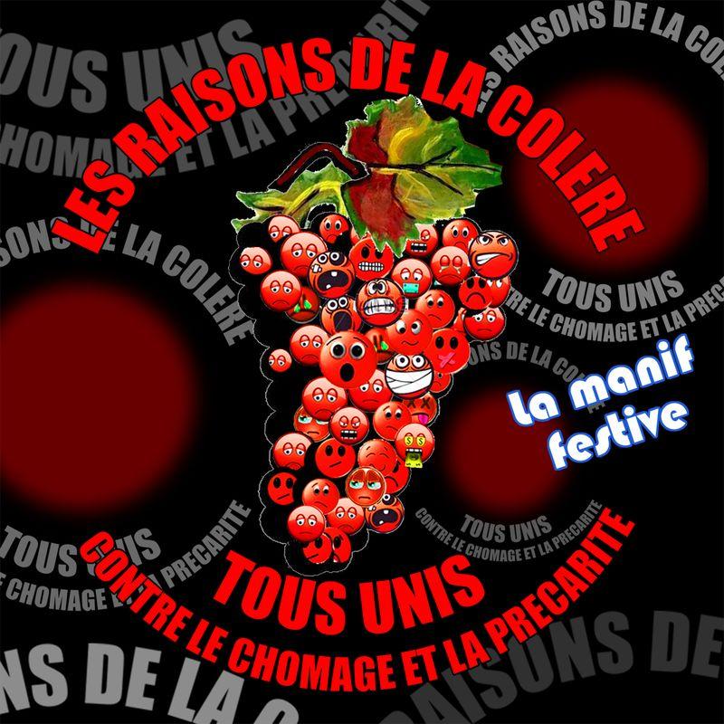Raisins autocollant 2